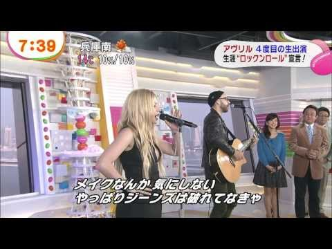 Baixar Avril Lavigne - Rock N Roll (Acoustic) @ Japanese TV show 18/11/2013