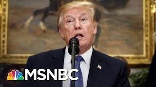 White House Chaos Reportedly Fragments President Donald Trump's Administration | AM Joy | MSNBC