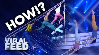 DANCING ON A LADDER ?? | VIRAL FEED