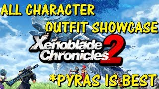 Xenoblade Chronicles 2 - All Character Outfits Showcase