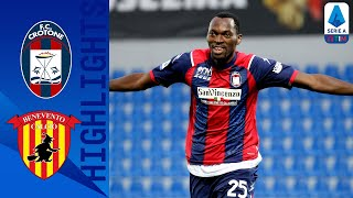 Crotone 4-1 Benevento | Simy Bags A Brace in Important Win For Crotone! | Serie A TIM