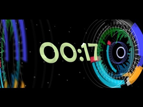 Countdown Timer 30 sec ( v 511 ) News Theme nr 1 Equalizer - Music Visualizer - effects 4k