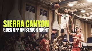 Cassius Stanley Dunks Everything on Senior Night - Full Game Highlights