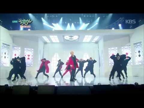 [HIT] 뮤직뱅크 - 보이프렌드, 거친 매력 발산 '모두 다 파티'. 20150306