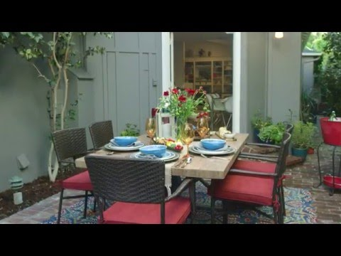 Pier 1 Imports: Set an Outdoor Table That's Ready for Anything