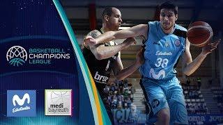 Movistar Estudiantes v medi Bayreuth - Highlights - Basketball Champions League