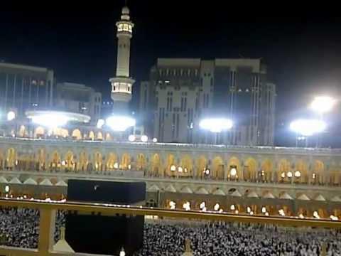 Alia Wisata, Suasana Shalat tarawih Masjidil haram Makkah 1433 H/ 2012 ...