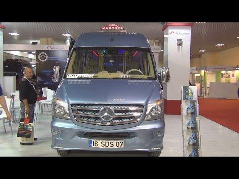 Mercedes-Benz Sprinter 516 BlueTec Esref Bus (2016) Exterior and Interior in 3D