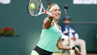 WTA Day 11 Vesnina Vs Williams Highlights