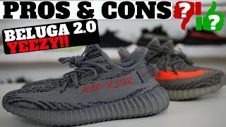 815bbb65e51fe Pros   Cons  BELUGA 2.0 YEEZY BOOST 350 V2 REVIEW