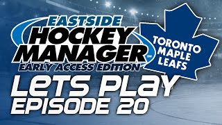 Episode 20 - Playoffs? | Eastside Hockey Manager:Early Access 2015 Lets Play