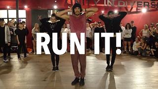 CHRIS BROWN - Run It! - Choreography by Alexander Chung   Filmed by @RyanParma