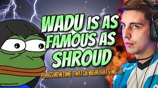 WADU HEK IS FAMOUS & BABYDISRESPECTS CUPCAKE | PUBG Highlights and Funny Moments #31