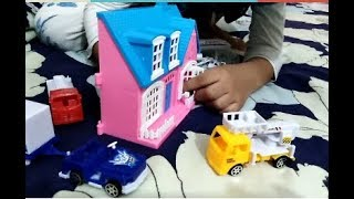 Ruaifi Play - Airplane Beautiful Cars And Happy House - For Children Video