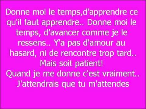 Donne-Moi Le Temps (Album Version)