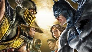 FUNNIEST FIGHTING GAME EVER!! - Multiplayer #16 (Mortal Kombat vs DC Universe Gameplay)