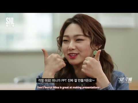 [ENG SUB] 170408 SNL Gugudan - 3 Minute Junior: Mina