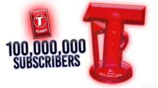 Does T-Series Have A 100 Million Subscriber Play Button? (answered, for now...)