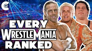 Every WrestleMania Ranked From WORST To BEST