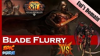 Poe Chaos Blade Flurry Build