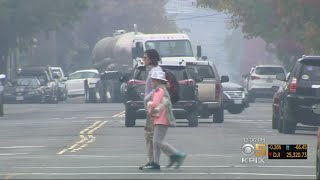 Weather Conditions Leave Bay Area Choking On Smoke From Camp Fire