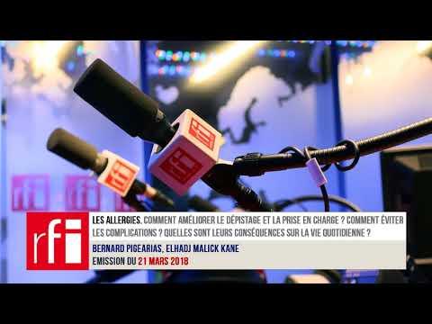 Podcast sur les allergies sur RFI du 20.3.2018
