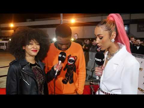 Not3s | Red Carpet Interview | 2017 MOBO Awards
