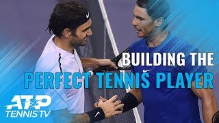 ATP Stars Build the Perfect Tennis Player!