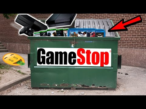 THIS IS A DUMPSTER JACKPOT!! Gamestop Dumpster Night #961