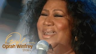 "Aretha Franklin's Performance of ""Amazing Grace"" That Made Oprah Cry 
