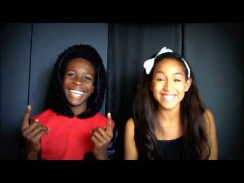 Baixar Ariana Grande / Mac Miller The Way cover by Ashley (12) and Dante (14)