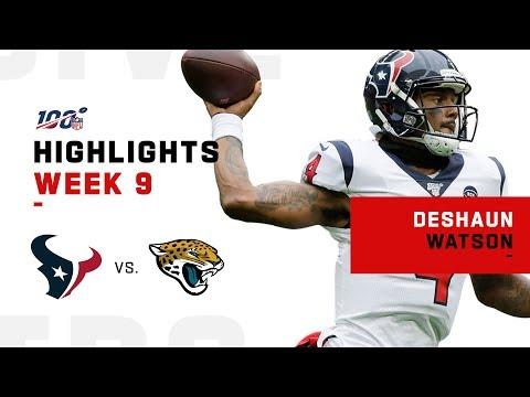 Deshaun Watson Highlights vs. Jags | NFL 2019
