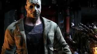Jason Voorhees bringing the Horror to Mortal Kombat X