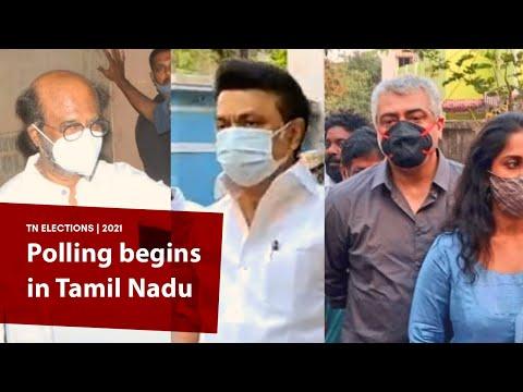 TN polls: Rajinikanth, Suriya, Ajith, Shalini, Udhayanidhi and Stalin cast their votes