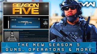 Modern Warfare: SEASON 5 New Operators, Weapons & Map REVEALED (Shadow Company)