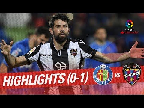 Getafe vs Levante UD