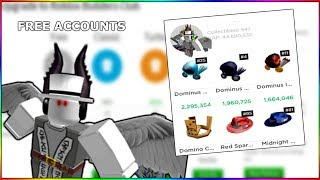 FREE RICH ROBLOX ACCOUNT W/ OBC + ROBUX - ZakRB