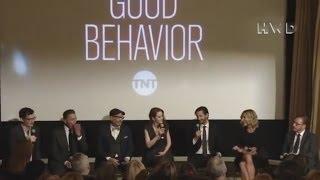 Good Behavior cast and creators, starring Michelle Dockery interview