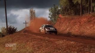 DiRT Rally 2.0 | VW Golf GTI R5 flatout big junps Rally Australia | Gameplay(HD)