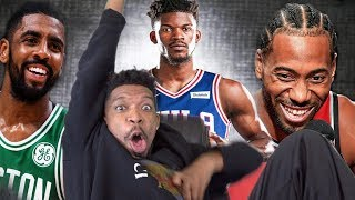 WOAHH JIMMY BUTLER TRADED TO SIXERS?!? BEST TEAM IN THE EAST? FIRST THOUGHTS & REACTION