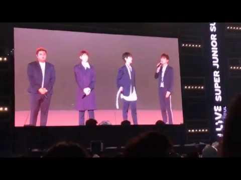 [ENG] 170708 SMTown Super Junior talk