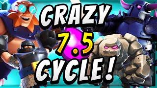 7.5 ELIXIR! MOST EXPENSIVE DECK EVER in CLASH ROYALE!