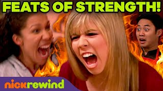 Sam Puckett's Weirdest Feats of Strength! | iCarly + Sam & Cat