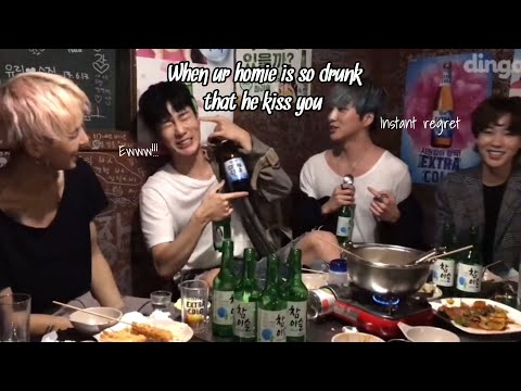 things yg family does when tipsy (eng sub)
