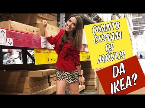 Quanto custa um móvel na IKEA?