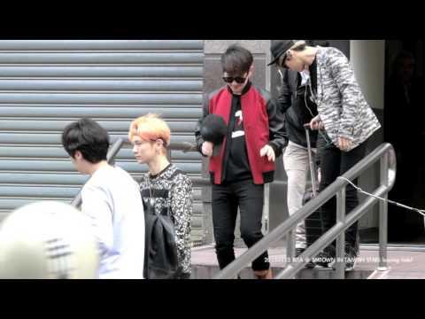 150322 Luna BoA KangTa TVXQ 張力尹 TASTY SHINee SNSD EXO Leaving Hotel