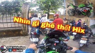 Chạy Moto Đi Học Và Phản Ứng Của m.n khi Tới Trường... [ninja300]