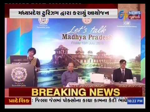 Madhya Pradesh Tourism Press Meet, Event Managed by Aum Event - Ahmedabad