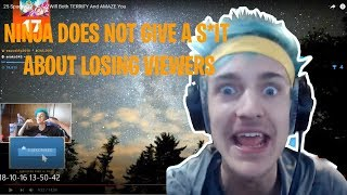 NINJA REACTS TO |25 INTERESTING/TERRIFYING SPACE FACTS| NINJA SAYS S*IT ON STREAM😱