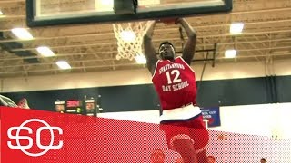 Zion Williamson dunks like LeBron James and Vince Carter in high school | ESPN